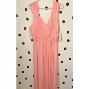 🔥30%OFF🔥🆕Bridesmaid pink long dress size XL